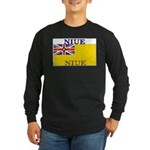 Niue.jpg Long Sleeve Dark T-Shirt