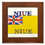 Niue.jpg Framed Tile