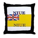Niue.jpg Throw Pillow