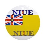 Niue.jpg Ornament (Round)