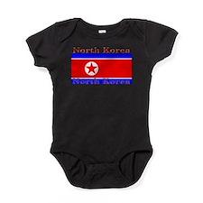 NorthKorea.jpg Baby Bodysuit
