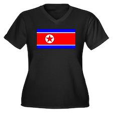 NorthKoreablank.jpg Women's Plus Size V-Neck Dark