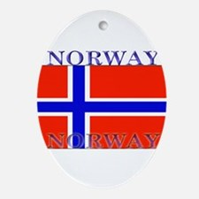 Norway.jpg Ornament (Oval)