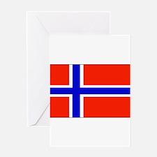 Norwayblank.jpg Greeting Card