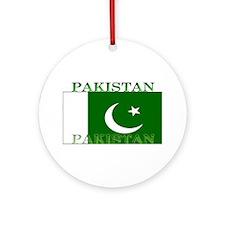 Pakistan.jpg Ornament (Round)