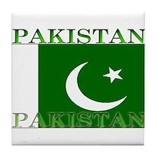 Pakistan.jpg Tile Coaster