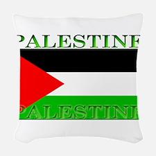 Palestine.jpg Woven Throw Pillow