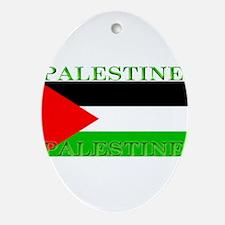 Palestine.jpg Ornament (Oval)