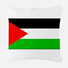Palestineblank.jpg Woven Throw Pillow