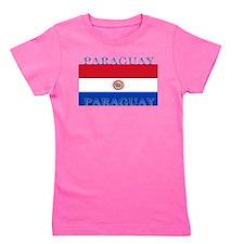 Paraguayblack.png Girl's Tee
