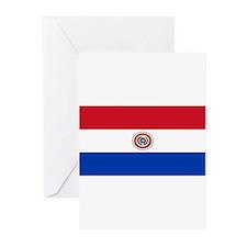 Paraguayblackblank.png Greeting Cards (Pk of 20)