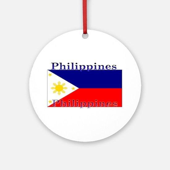 Philippines.jpg Ornament (Round)