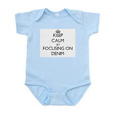 Keep Calm by focusing on Denim Body Suit