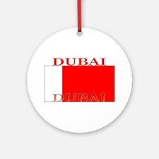 Dubai.png Ornament (Round)