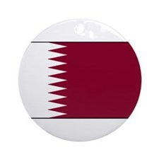 QatarBlank.png Ornament (Round)