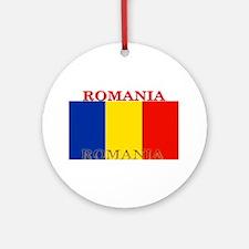 Romania.png Ornament (Round)