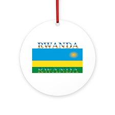 Rwanda.jpg Ornament (Round)