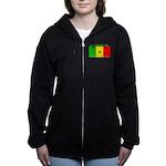 Senegal.png Women's Zip Hoodie