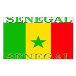 Senegal.png Sticker (Rectangle 10 pk)