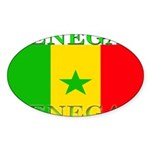 Senegal.png Sticker (Oval 10 pk)