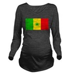Senegalblank.png Long Sleeve Maternity T-Shirt