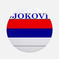 Djokovic.png Ornament (Round)