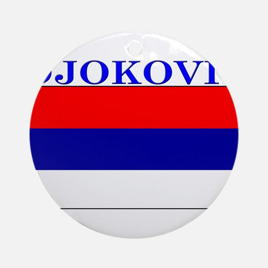 Djokovic.png Ornament (Round)