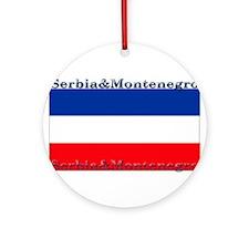 SerbiaMontenegro.jpg Ornament (Round)