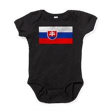 Slovakiablackblank.png Baby Bodysuit