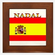 Nadal.png Framed Tile