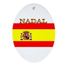 Nadal.png Ornament (Oval)