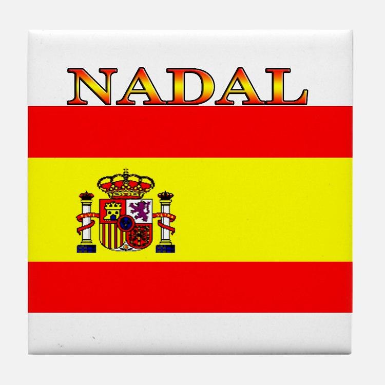 Nadal.png Tile Coaster