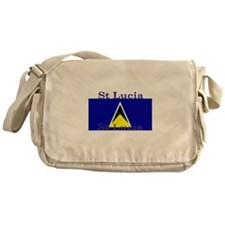 StLucia.jpg Messenger Bag
