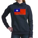 Taiwanblack.png Women's Hooded Sweatshirt