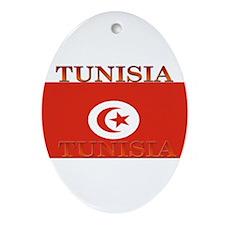 Tunisia.jpg Ornament (Oval)