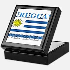 Uruguay.png Keepsake Box