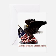 Eagle1.png Greeting Card