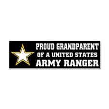 Cute Army ranger mom Car Magnet 10 x 3