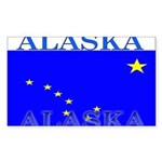 Alaska.png Sticker (Rectangle 10 pk)