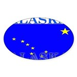 Alaska.png Sticker (Oval 50 pk)