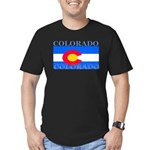 Colorado.png Men's Fitted T-Shirt (dark)