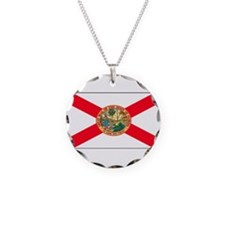 Floridablank.jpg Necklace Circle Charm