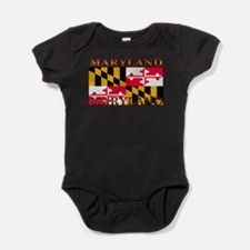Maryland.png Baby Bodysuit