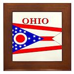 Ohio.png Framed Tile