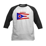 Ohio.png Kids Baseball Jersey