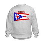 Ohio.png Kids Sweatshirt
