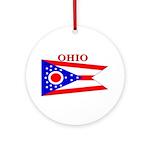 Ohio.png Ornament (Round)