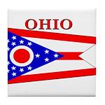 Ohio.png Tile Coaster