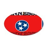 Tennessee.jpg 35x21 Oval Wall Decal