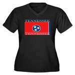 Tennessee.jpg Women's Plus Size V-Neck Dark T-Shir